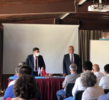 KINACI, KKTC'de Görevli Rehber Öğretmenlerle Buluştu