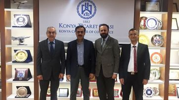 SEM Director Held Official Talks at Konya
