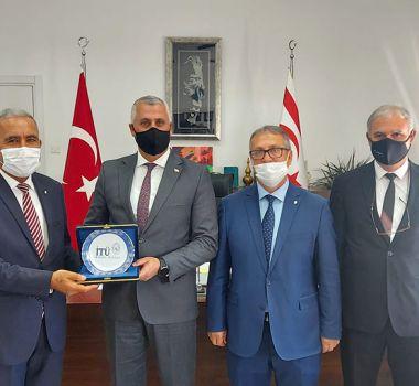 KKTC Milli Eğitim ve Kültür Bakanlığı'na Ziyaret