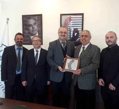 Kıbrıs Batı Üniversitesi'ne Ziyaret