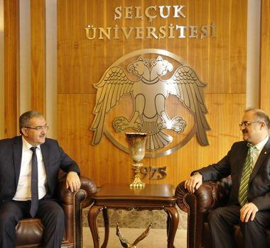 Selçuk Üniversitesi'ne Ziyaret