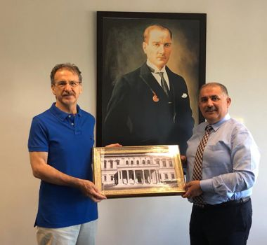 İTÜ HEYETİ ODTÜ KUZEY KIBRIS KAMPUS'UNU ZİYARET ETTİ