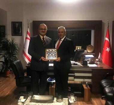 Ekonomi ve Enerji Bakanı Taçoy'a Ziyaret