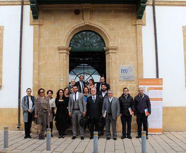 ELSEVIER Meeting Was Held at ITU-TRNC CEC