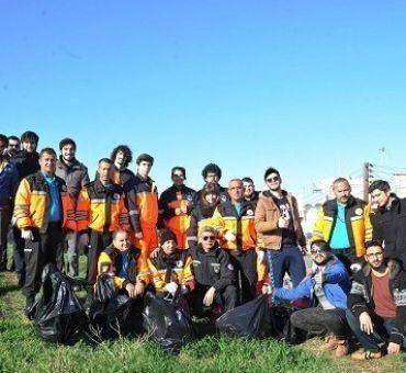 İTÜ Kuzey Kıbrıs AKUT Üyeleri Çevre Koruma Projesine Destek Verdi