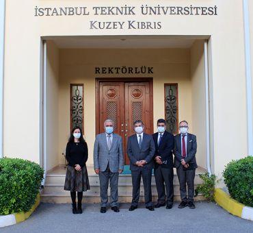 LAÜ Rektörü Üniversitemizi Ziyaret Etti