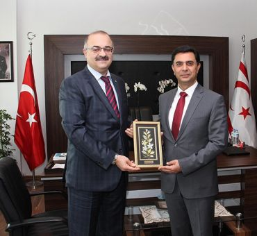Visit to the Minister Economy and Energy Özdil NAMİ