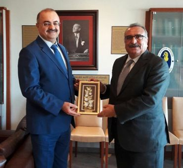 Visit to Turkish Maritime Federation
