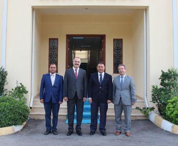 Çalışma ve Sosyal Güvenlik Bakanı İTÜ-KKTC'yi Ziyaret Etti