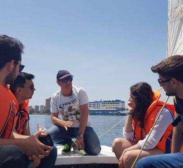 Yelkenle Tanışma Etkinliği Düzenlendi