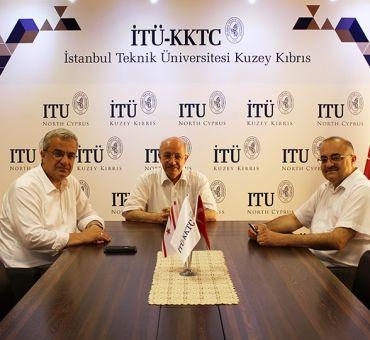 İTÜ Rektörü Prof. Dr. Mehmet KARACA İTÜ Kuzey Kıbrıs'ı Ziyaret Etti