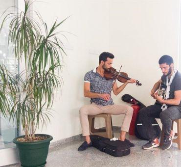 Gazimağusa Devlet Hastanesinde Müzik Dinletisi Yapıldı