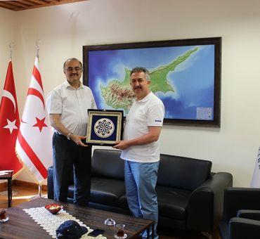 Aselsan's Deputy Director General ÇELİK Visited ITU-TRNC
