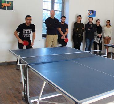 Masa Tenisi Turnuvası Gerçekleştirildi