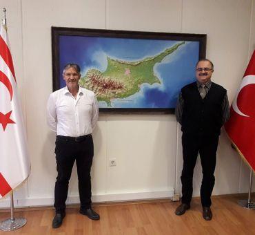 TREV and ZY President Önder YOL Visited ITU-TRNC Office