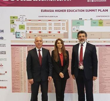 YÖDAK Heyeti Avrasya Yükseköğretim Zirvesi'ne (EURIE) Katıldı