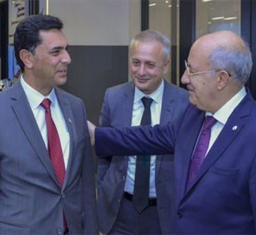 Başbakan ERHÜRMAN ve Bakan NAMİ İTÜ'yü Ziyaret Etti