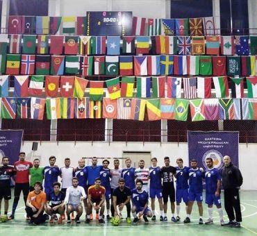 DAÜ ile Futsal Dostluk Maçı Yapıldı