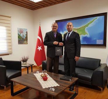 METU NCC Secretary General Visited Our University