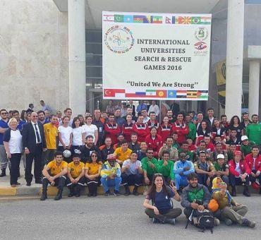 Uluslararası Üniversiteler Arama Kurtarma Oyunları - 2016 Başladı