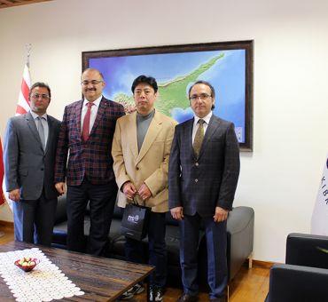 Prof. Dr. Hiroaki SETA Üniversitemizi Ziyaret Etti