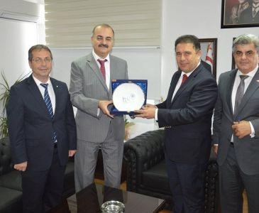 Rektör KAHYA, Çalışma ve Sosyal Güvenlik Bakanı ile Görüştü