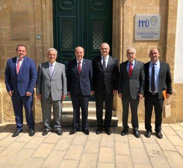 Prime Minister Ersin TATAR visited ITU North Cyprus Continuing Education Center