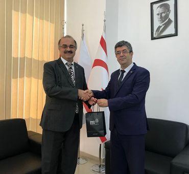 Courtesy Visit to Bahçeşehir Cyprus University