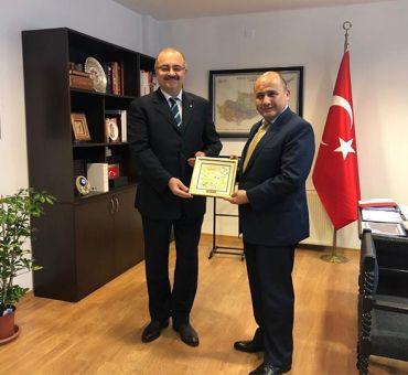 Courtesy Visit to Ambassador BAŞÇERİ