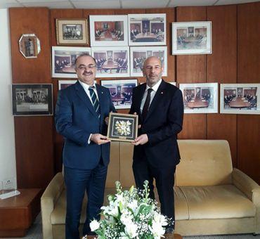 Visit to Turkish Bank